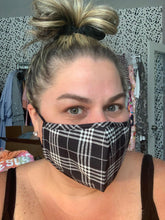 Load image into Gallery viewer, Plaid Face Masks