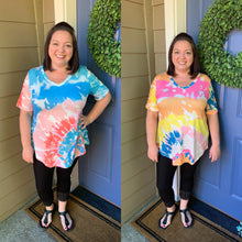 Load image into Gallery viewer, Tie Dye V-Neck Tunics