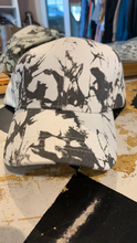 Load image into Gallery viewer, White & Gray Tie Dye Hat