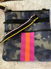 Load image into Gallery viewer, Camo Neoprene Cross Body Bag