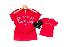 Pre-Order You Make my Heart Sing T-Shirt (Matches Youth Wildthing)