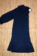 Load image into Gallery viewer, Navy 3/4 Sleeve V-Neck Tunic