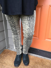 Load image into Gallery viewer, Snakeskin Skinny Jeans