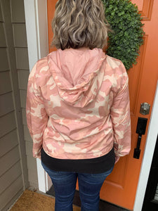 Lightweight Pink Camo Jacket