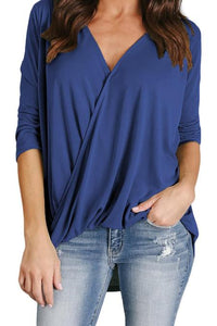 High Low Wrap Top