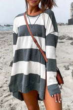Load image into Gallery viewer, Striped Sweatshirt Tunic