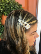 Load image into Gallery viewer, Pearl Beaded Hair Clip