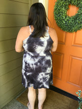 Load image into Gallery viewer, Tie Dye Wrap Racer Back Tunic/Dress