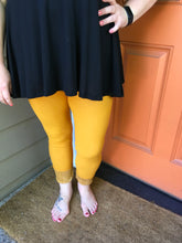 Load image into Gallery viewer, Mustard  Jeggings