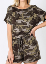 Load image into Gallery viewer, Camo Romper