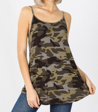 Load image into Gallery viewer, New Camo Reversible Tank Top