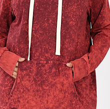 Load image into Gallery viewer, Cabernet Mineral Wash Hoodie