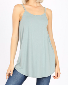 Light Green Reversible Tank Top