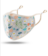 Load image into Gallery viewer, New Floral Facemasks 100% Cotton