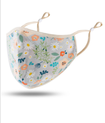 New Floral Facemasks 100% Cotton