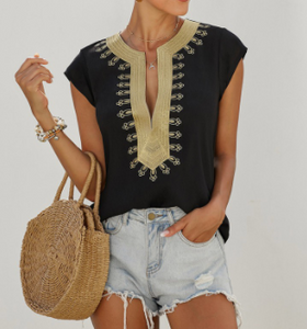 Boho Shift Blouse