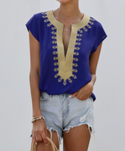 Load image into Gallery viewer, Boho Shift Blouse