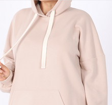 Load image into Gallery viewer, Dusty Blush Hoodie Sweatshirt