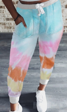 Load image into Gallery viewer, Multi Tie Dye Joggers