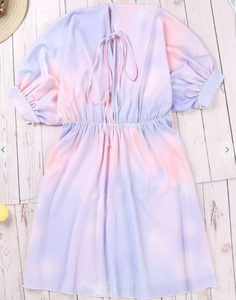 Tie Dye Date Night Dress