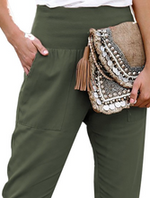 Load image into Gallery viewer, Army Green Joggers