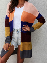 Load image into Gallery viewer, Pre-Order Knit Color Block Cardigan