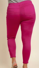 Load image into Gallery viewer, Pink Moto Jeggings