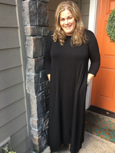 Load image into Gallery viewer, Black Maxi Dress