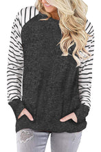 Load image into Gallery viewer, Striped Sleeve Pocket Tunic