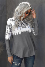 Load image into Gallery viewer, Tie-dye Knit Long Sleeve Top