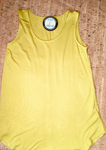 Load image into Gallery viewer, Chartreuse Scoop-Neck Tank Top