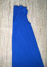 Load image into Gallery viewer, Royal Blue V-Neck Tank Tunic