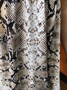 Snakeskin Tunic/Dress