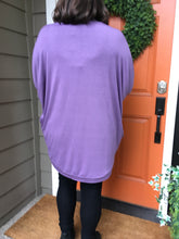 Load image into Gallery viewer, Lilac Grey Slouch Cardigan