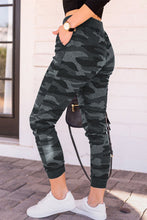 Load image into Gallery viewer, Pre-Order Gray Camo Drawstring Joggers