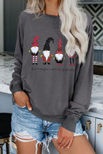 Load image into Gallery viewer, Dark Gray Christmas Sweatshirts