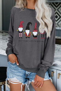 Dark Gray Christmas Sweatshirts