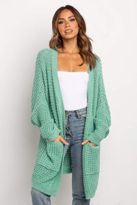 Pre-Order Oversized Front Pocket Knit Cardigan