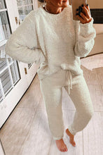 Load image into Gallery viewer, Cream Knit Lounge Set