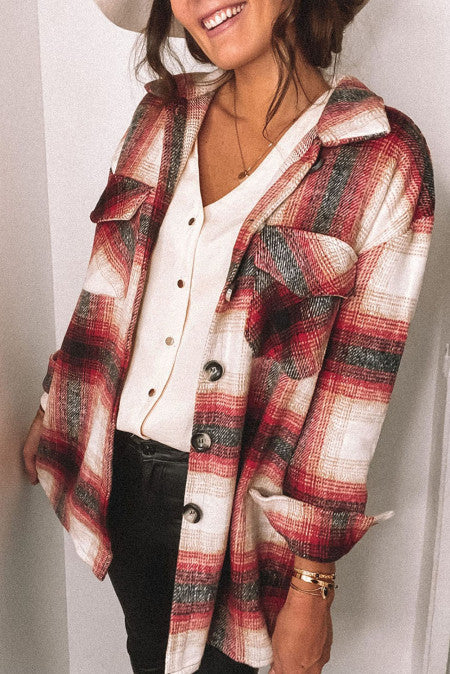 Pre-Order Red Flannel Shirt/Jacket