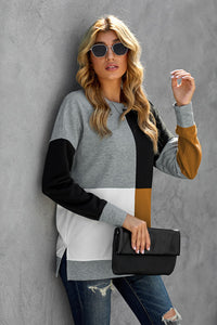 Pre-Order Color Block Sweatshirt