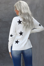 Load image into Gallery viewer, Pre-Order Turtleneck Star Print Sweater