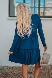 Teal Tiered Tunic/Dress
