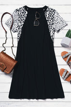 Load image into Gallery viewer, Pre-Order Leopard Accent Tunic/Dress