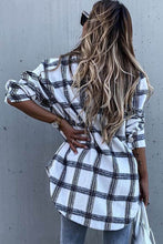 Load image into Gallery viewer, Re-Order White Plaid Tunic