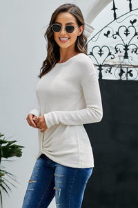 Pre-Order Thermal Knot Top