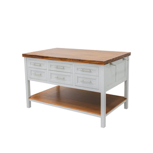 222 Fifth Lexington Kitchen Island - Accessories Essentials