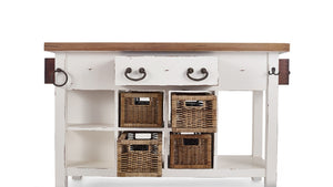 Bramble Co. Umbria Kitchen Island - Accessories Essentials