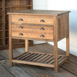 Park Hill Old Pine Cottage Kitchen Island - Accessories Essentials