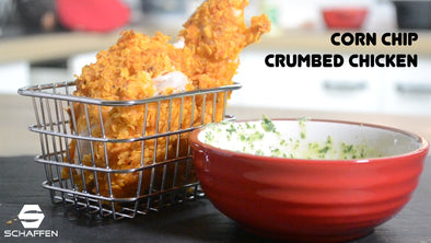 Corn Chip Crumbed Chicken
